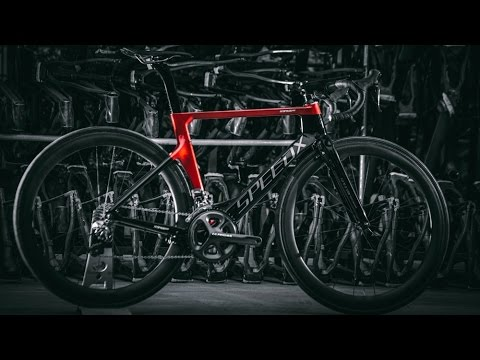 SpeedX Leopard Pro Smart Aero Road bike design - YouTube