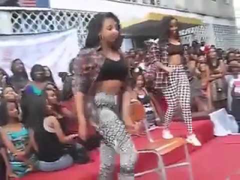 Ethiopian sexy girls twerking