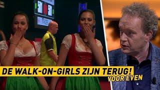 RTL Darts BullsEye 13 | De walk-on girls zijn (voor even) terug
