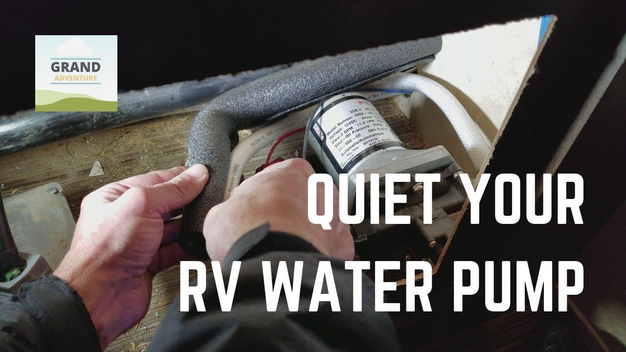 rv water pump troubleshooting