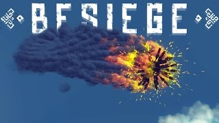 Besiege Best Creations - Flying Aircraft Carrier, Weaponized Toilets & More! (Besiege Gameplay)