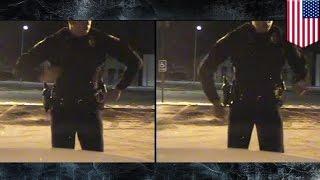 Танцующий полицейский: супер-видео с регистратора(За что мы любим видеорегистраторы – за то, что они снимают прекрасное! Словам очевидца вряд ли бы кто повери..., 2015-02-07T16:31:01.000Z)