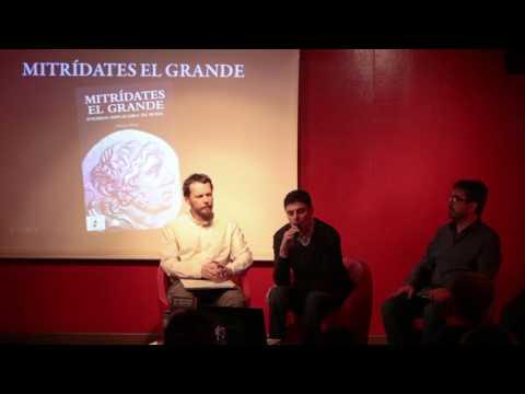 """Presentación del libro """"Mitrídates el Grande"""" en FNAC Callao"""