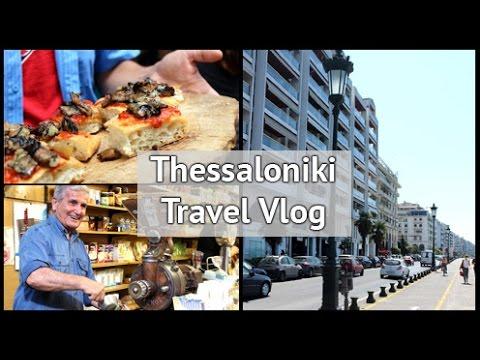 Thessaloniki Travel Vlog - Food Tours & Halkidiki | xameliax #BlogtrottersGR