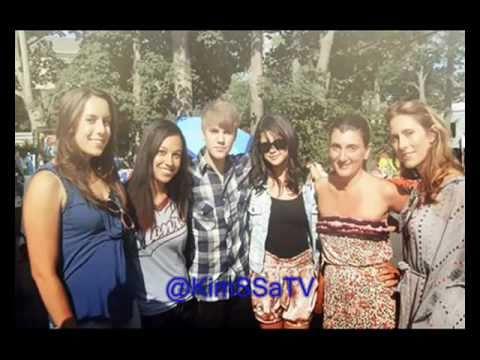 Justin Bieber & Selena Gomez Shopping in the Hamptons - New York (July 2, 2011)