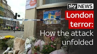 London terror: How the attack unfolded