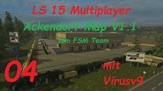 LS 15 Multiplayer Ackendorf #4 Sägewerk und Gewächshäuser [german/deutsch]