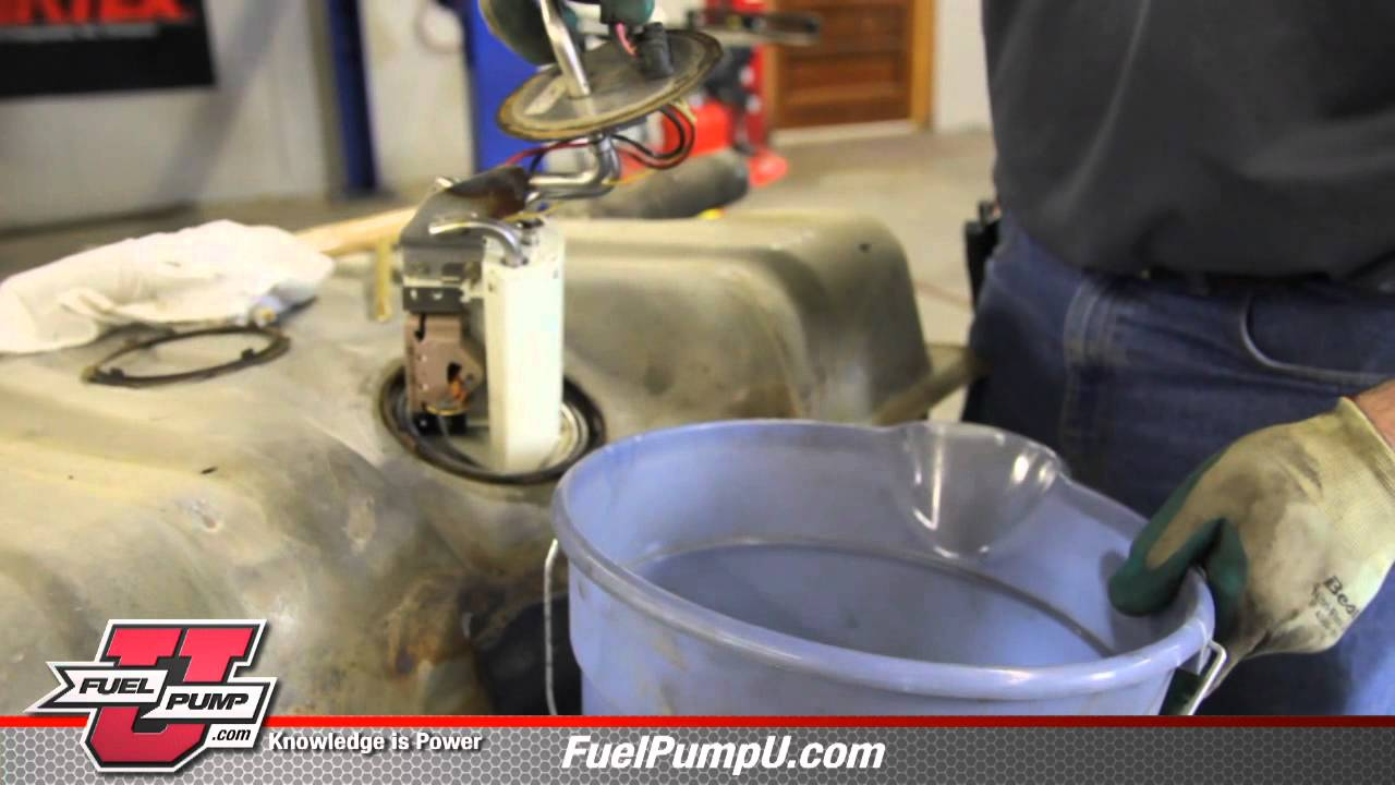 How To Install Fuel Pump E2064mn In 1990 1997 Ford F150 Trucks Youtube 1992 Mustang Diagram