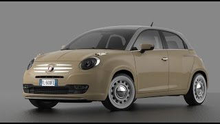 Fiat 600 new concept  HD (127)  + Abarth