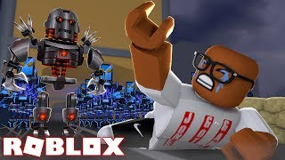 ROBOTS ARE TAKING OVER THE WORLD IN ROBLOX (Roblox Robot Simulator)
