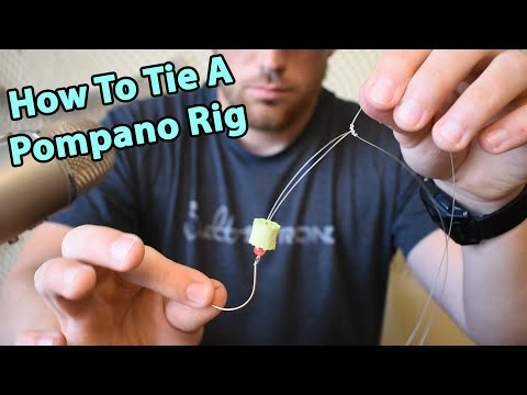 How To Tie A Pompano Rig For Surf Fishing (Catches Pompano, Whiting, Black Drum & More)