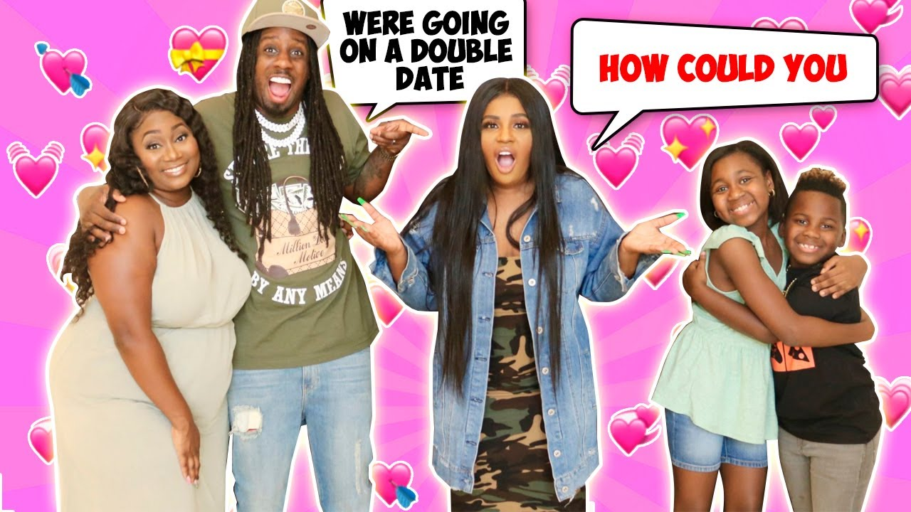 ME AND DJ GO ON A DOUBLE DATE WITH SALLY AND KARISSA  (PRANK ON MALINDA)