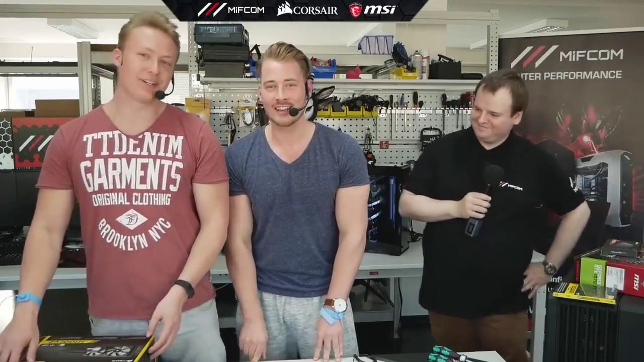 Lusor koeffizient  Lusor Koeffizient GAMING PC VERLOSUNG LIVE ZUSAMMENBAU vom 31.03 ...