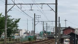 名鉄瀬戸線4000系 4017f(普通栄町行き)矢田〜大曽根間 通過‼️