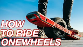 HOW TO RIDE ONEWHEELS // Beginner tutorial to learn fast in under 2 minutes