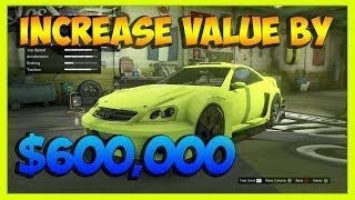 GTA 5 Online - Increase the Resale Value of a Vehicle (by up to $600,000) SOLO