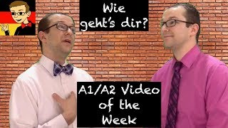 How are you? - Learn German for Beginners A1/A2 #2