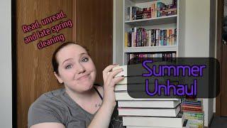 Summer Unhaul   50+ Books Go Bye-Bye
