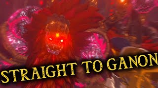 Beating Ganon Right Away!? - Going Straight to Ganon in Breath of the Wild