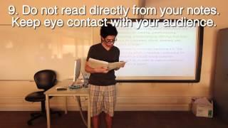 Presentation Good/Bad Examples thumbnail