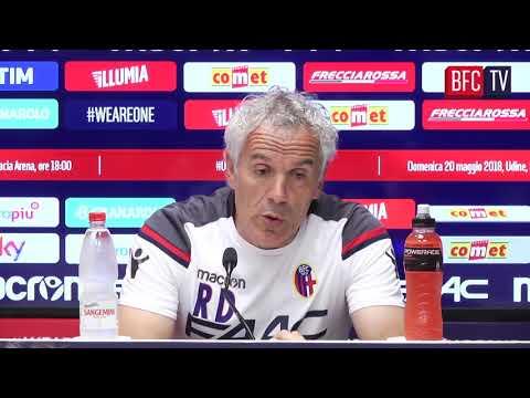 #UdineseBFC: Donadoni in conferenza stampa