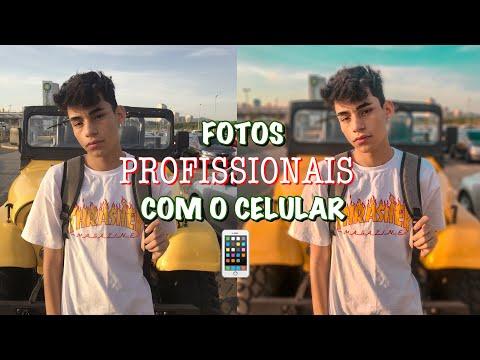 FOTOS PROFISSIONAIS COM O CELULAR