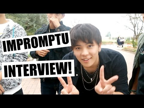 ARE JAPANESE INTERESTED IN FOREIGNERS? // Impromptu Interview | Euodias