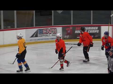 20180623 USHL Futures Camp OMAHA LANCERS #15 Leon's Goals