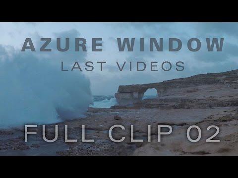 Last video of the Azure Window FULL CLIP  02