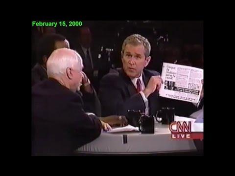 McCain asks Bush to apologize (2000)