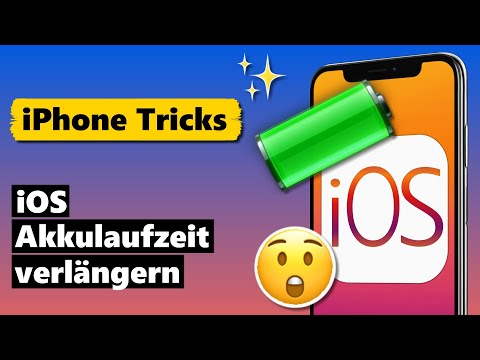 iOS 13 Akkulaufzeit VERLÄNGERN mit diesen TRICKS 🔋😲