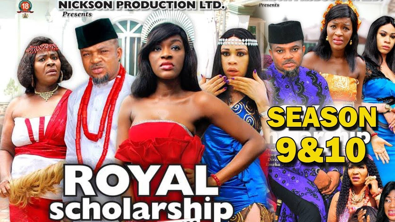 ROYAL SCHOLARSHIP SEASON 9&10 - Chacha Eke 2019 Latest Nigerian Nigerian Nollywood Movie