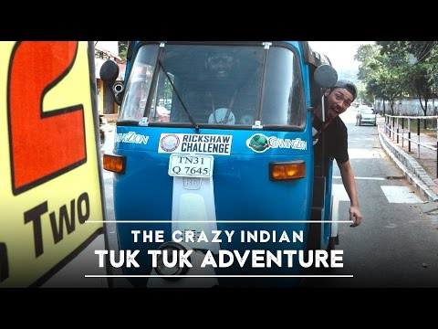 Ch. 2 - Traveling India by Tuk Tuk, Our Journey Begins! (4K)