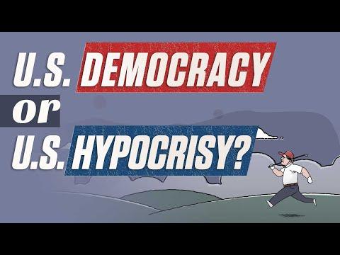 U.S. democracy or U.S. hypocrisy?