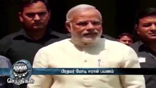 PM Modi & Governor Rosaiah Congratulates Jayalalithaa on Her Victory in TN