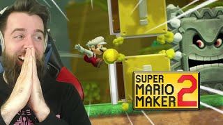 F's in CHAT FOR WHAT HAPPENS NEXT // ENDLESS SUPER EXPERT [#74] [SUPER MARIO MAKER 2]
