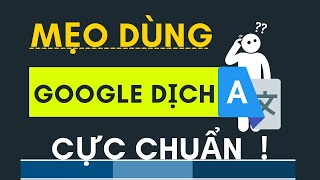 Cách Sử Dụng Google Dịch Hiệu Quả, Cách Viết mail tiếng anh thật chuẩn
