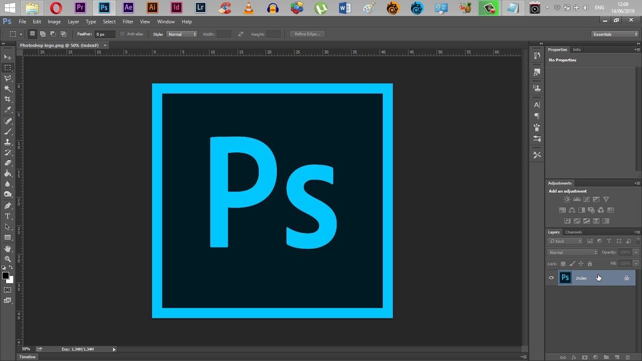 How to Unlock an Index Layer in Adobe Photoshop CC
