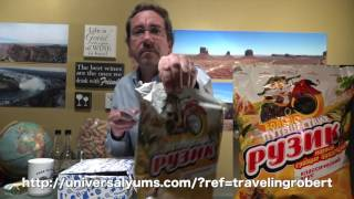 Tasting tasty Russian snacks from the Universal Yums subscription service thumbnail