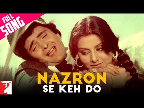Nazron Se Keh Do - Full Song | Doosara Aadmi | Rishi Kapoor | Neetu Singh
