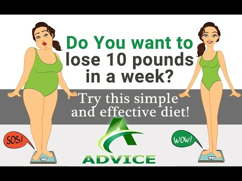 How to lose 10 pounds | fastest way to lose weight