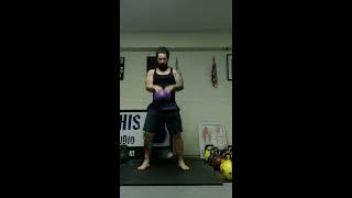 Advanced Lower Body Kettlebell Complex : 50 reps of The Bruce Complex