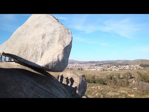 Warum fallen diese hängenden Steine nicht herunter?
