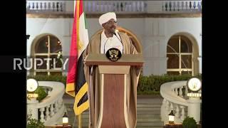 Sudan: President al-Bashir announces year-long state of emergency, dissolves government