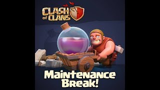 My Clash of Clans Stream maintenance break for new updates with Aaryan Tmg