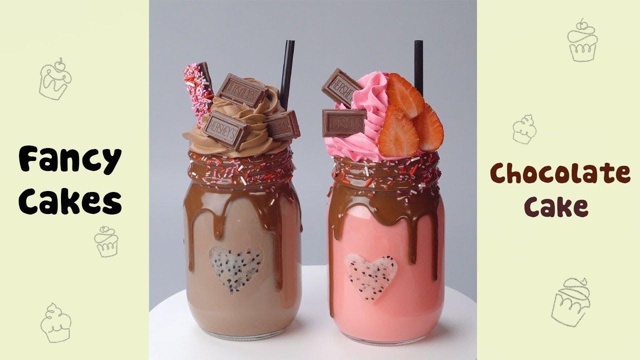 Strawberry Chocolate Milkshake #shorts