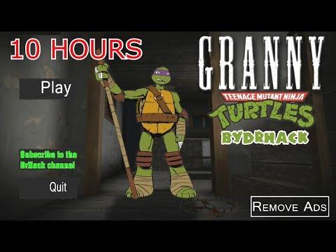 Granny 10 hours play   Teenage Mutant Ninja TURTLES [🔴LIVE] Marathon GRANNY