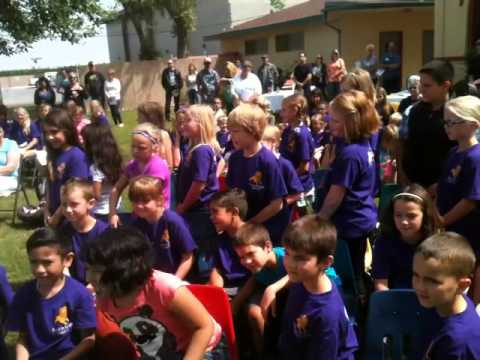 Anniversary celebration at Hanford Christian School