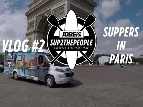 Vlog #2: SUPPERS in Paris - SUP2thepeople European West Coast tour