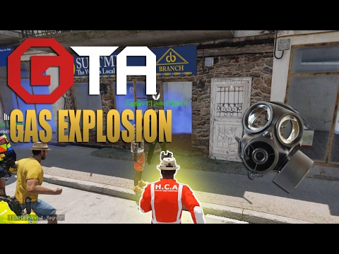 """Grand Theft ArmA NHS """"Gas explosion"""""""
